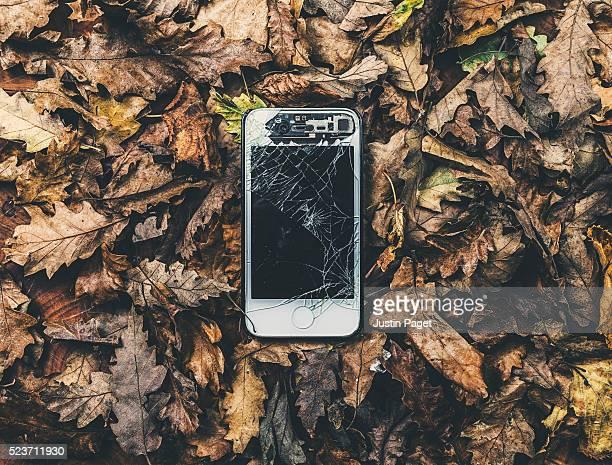 Smashed Smart Phone