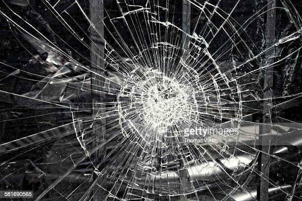 Smashed Store window