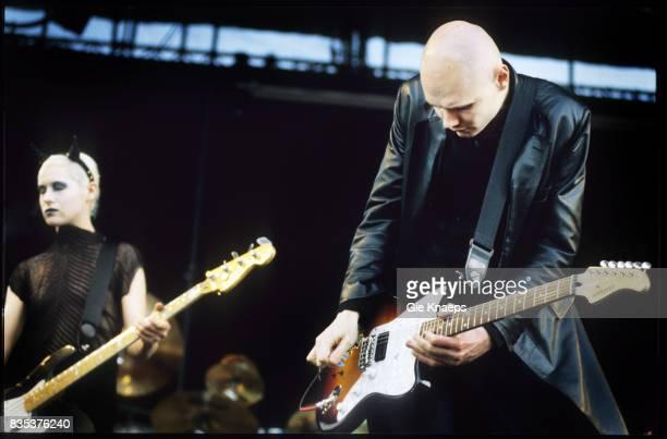 Smashing Pumpkins Billy Corgan D'arcy Wretzky Pinkpop Festival Landgraaf Holland