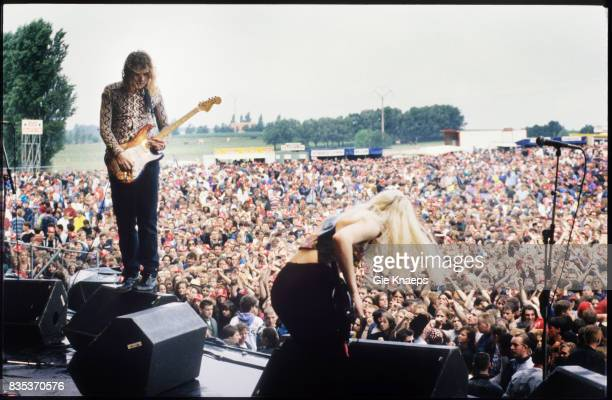 Smashing Pumpkins Billy Corgan D'arcy Wretzky Rock Torhout Festival Torhout Belgium