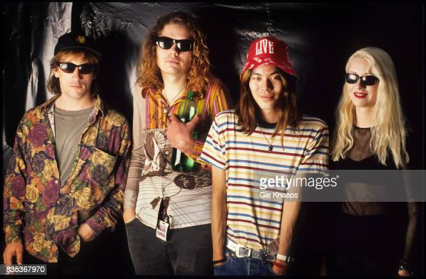 Smashing Pumpkins Billy Corgan James Iha D'arcy Wretzky Jimmy Chamberlin Rock Werchter Festival Werchter Belgium
