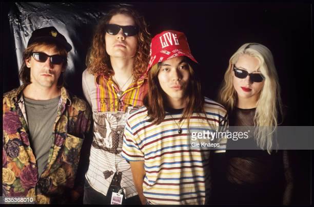 Smashing Pumpkins Billy Corgan James Iha D'arcy Wretzky Jimmy Chamberlin Rock Werchter Festival Werchter Belgium