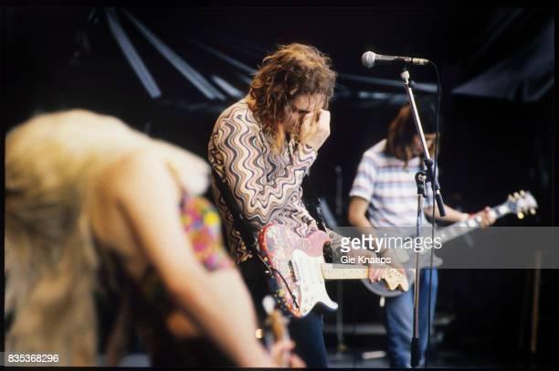 Smashing Pumpkins Billy Corgan James Iha D'arcy Wretzky Rock Torhout Festival Torhout Belgium