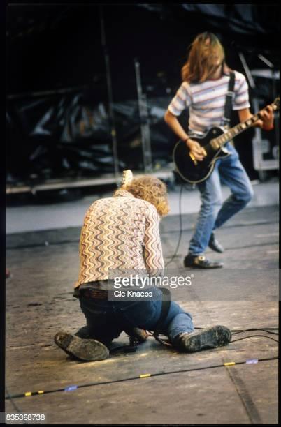 Smashing Pumpkins Billy Corgan James Iha Rock Torhout Festival Torhout Belgium