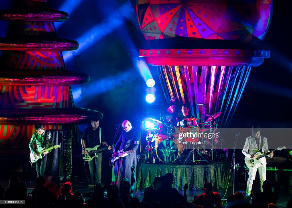 Smashing Pumpkins In Concert : News Photo
