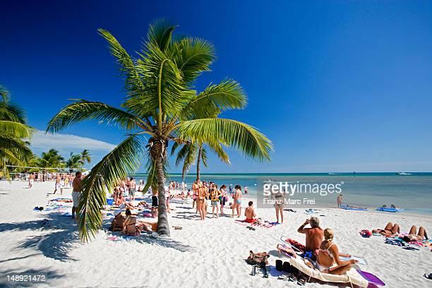 Smathers Beach, Key West.