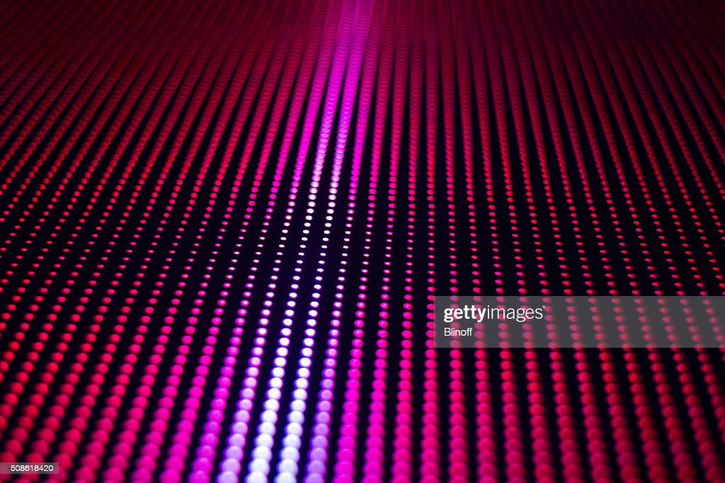smd big red led screen : Stock Photo