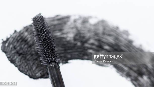 A Smear Of Black Mascara and Brush