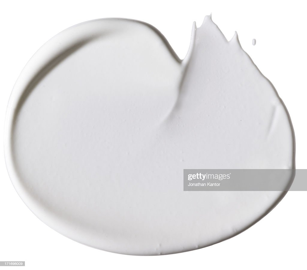 Smear of Cosmetics : Stock Photo