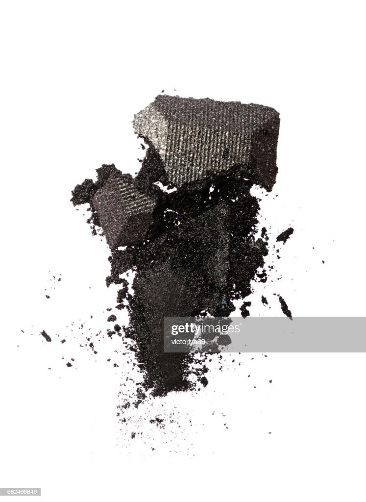 Smear Of Crushed Shiny Gray Eyeshadow High Res Stock Photo Getty Images