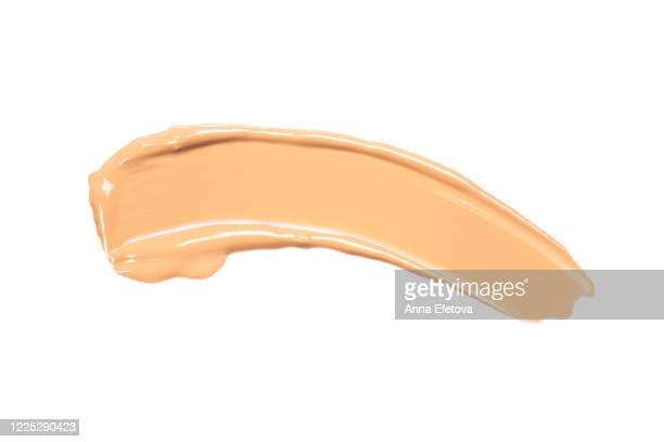 smear of the foundation - dirty stock pictures, royalty-free photos & images