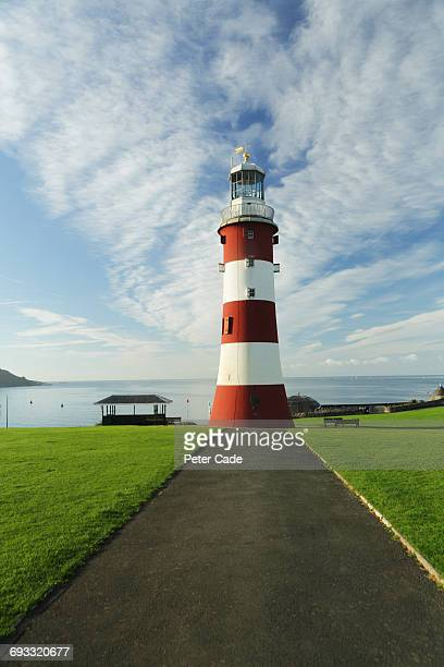 Smeatons Tower lighthouse on Plymouth Hoe