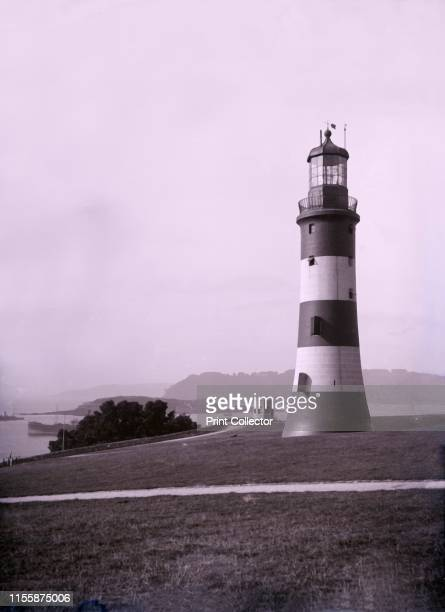 Smeaton's Tower near Plymouth in Devon Completed in 1759 by John Smeaton the Tower was the fourth Eddystone Lighthouse Its interlocking granite block...