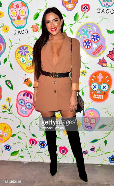 Smeby attends Sugar Taco Vegan Mexican Restaurant Celebrity Launch Party on May 23 2019 in Los Angeles California