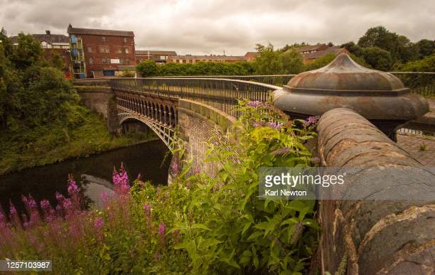 smethwick aqueduct - canal stock pictures, royalty-free photos & images