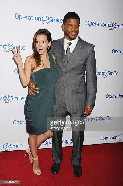 Smile Ambassadors Sharif Atkins and Bethany Atkins attend the 2014 Operation Smile Gala at the Beverly Wilshire Four Seasons Hotel on September 19,...