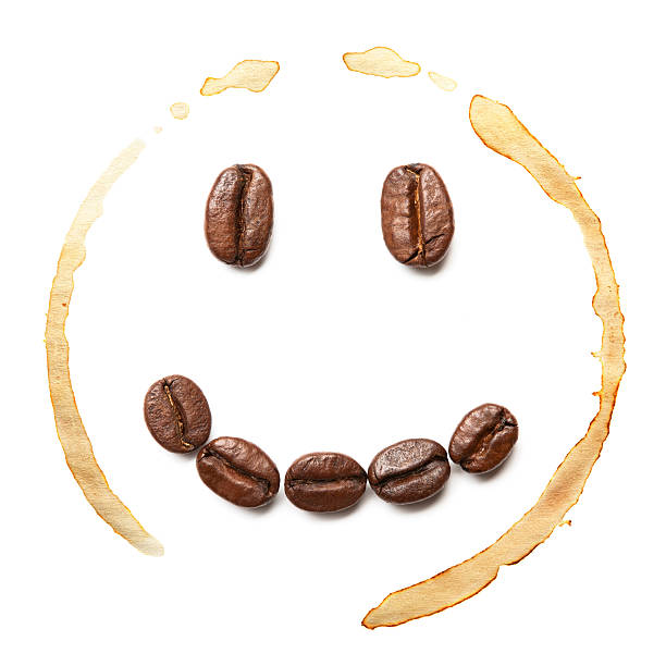 Smile Coffee Beans Wall Art