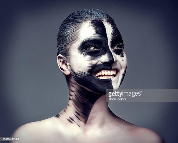 Sourire, le maquillage et de loisirs