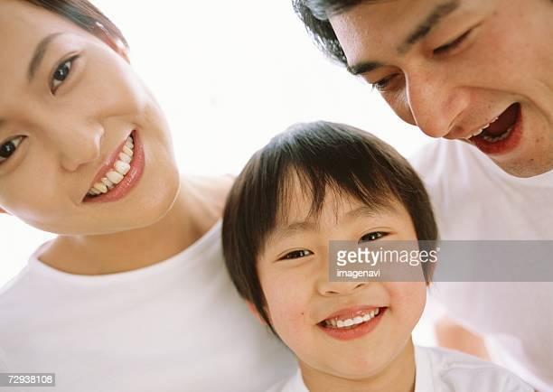 Smile of family