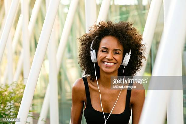 smile. - big hair stock photos and pictures