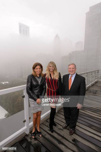 Smile Train the worlds largest cleft charity celebrated World Smile Day® with Christie Brinkley US Senator Dick Durbin and Deputy Mayor Andrea Zopp...