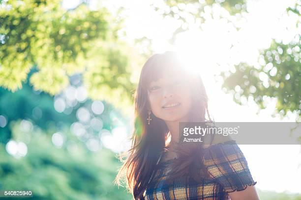 笑顔と晴れた日