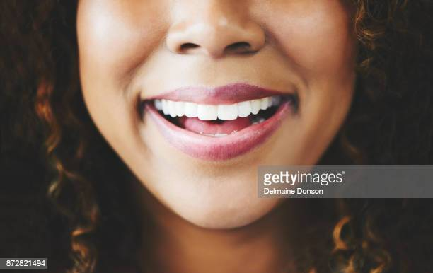 smiles are proof that the best things are free - lip gloss stock pictures, royalty-free photos & images