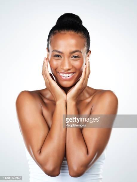 sonrisas de trabajo maravillas - chica adulta negra espalda desnuda fotografías e imágenes de stock