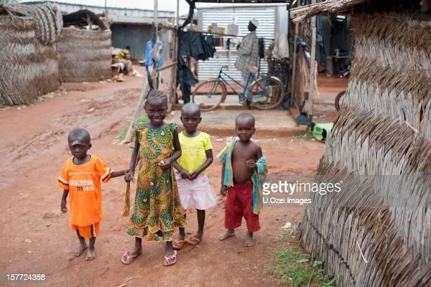 Smiley enfants africains