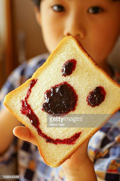 Smiley bread