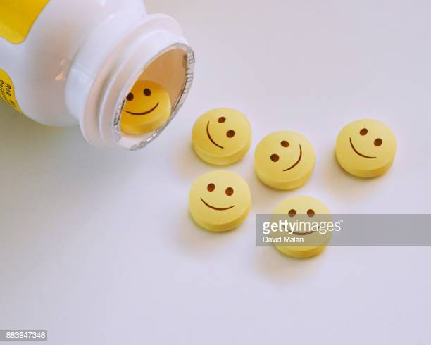 Smiley faced pills.