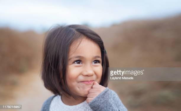 smiling 3 years old girl close-up - 2 3 years stock pictures, royalty-free photos & images