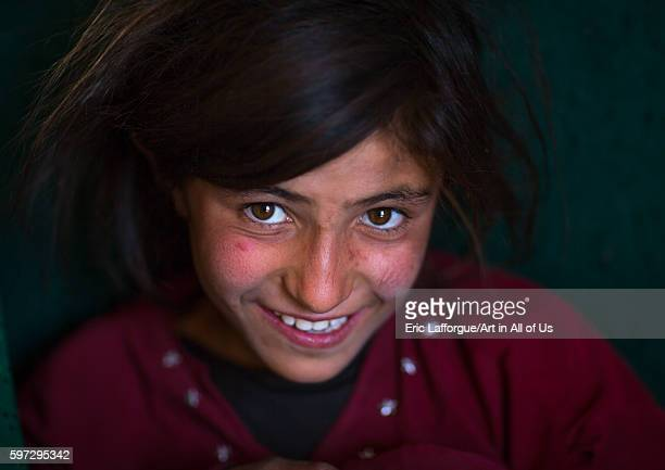 Smiling afghan girl badakhshan province zebak Afghanistan on August 15 2016 in Zebak Afghanistan