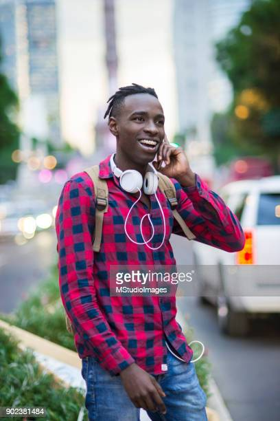 smiling african man. - nigerian men stock photos and pictures