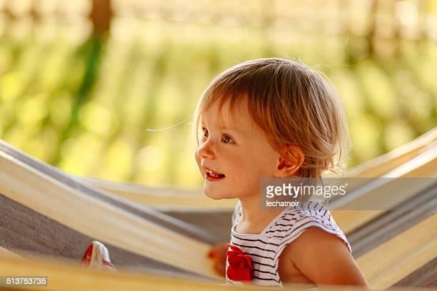 smiling baby girl