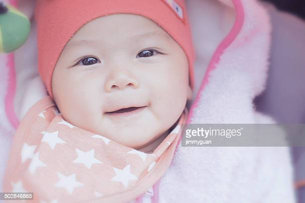 smiling baby (6-11 months) - 6 11 months stock pictures, royalty-free photos & images