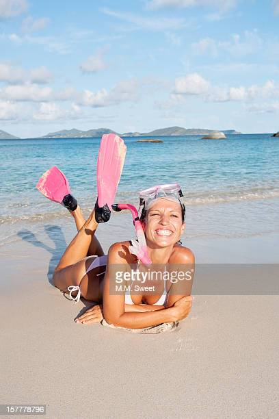 smiling beach