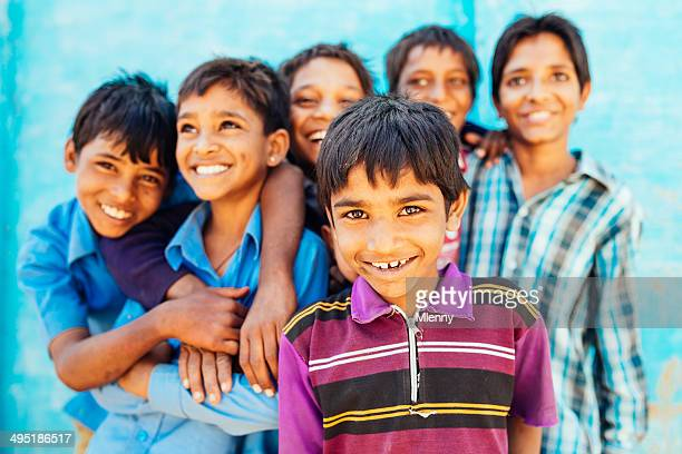 smiling boys of india - mlenny stock pictures, royalty-free photos & images