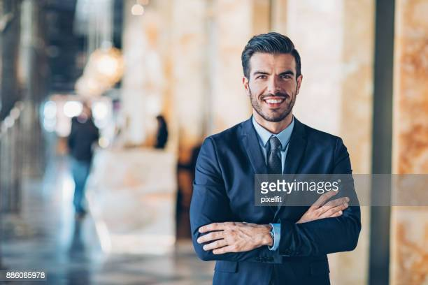 smiling businessman - responsibility stock pictures, royalty-free photos & images