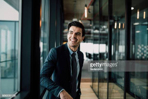smiling businessman - only men stock pictures, royalty-free photos & images