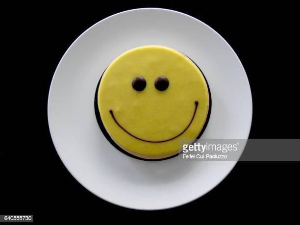 Smiling cake