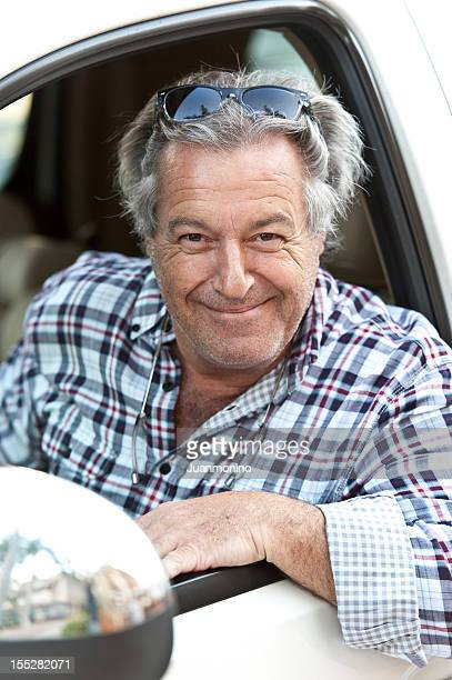 smiling caucasian sixty years old man - 55 59 years stock pictures, royalty-free photos & images