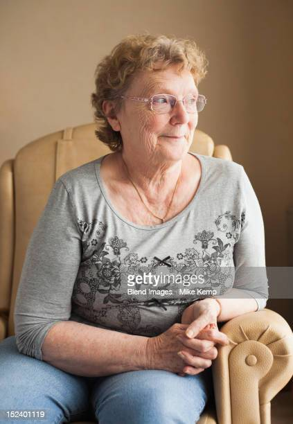 smiling caucasian woman - ardennes department france stock photos and pictures