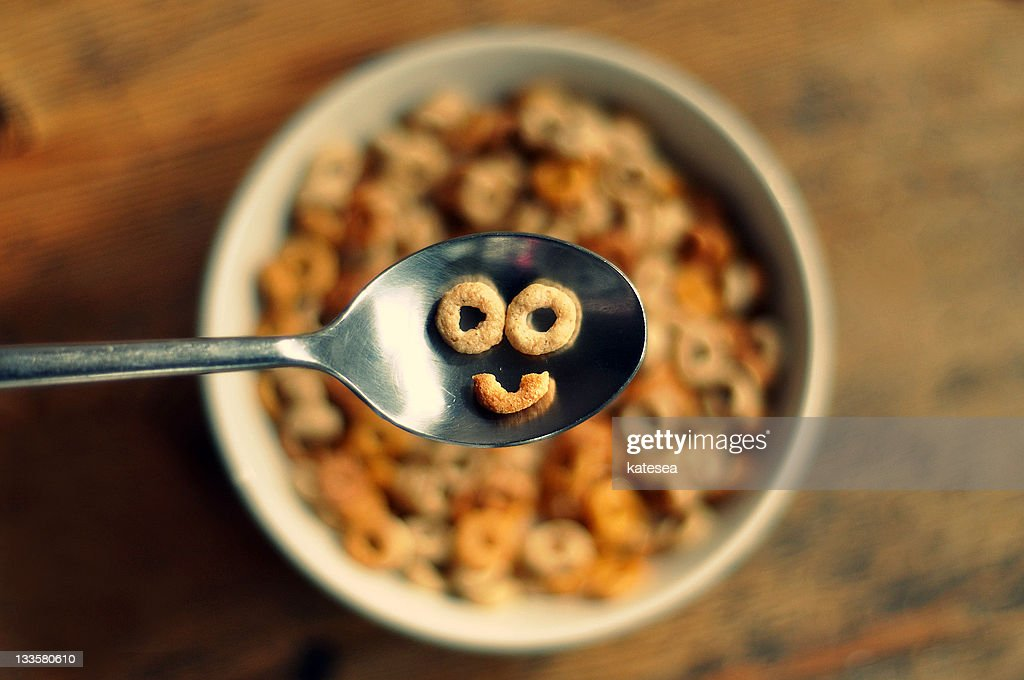 Smiling cereal : Stock Photo