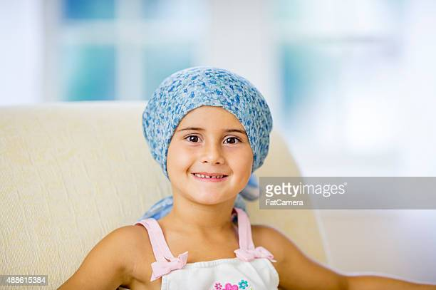 Smiling Chemotherapy Patient