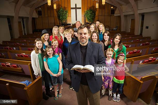 smiling church - christendom stockfoto's en -beelden