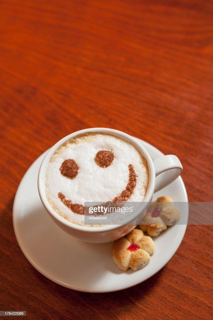 Smiling Coffee : Stock Photo