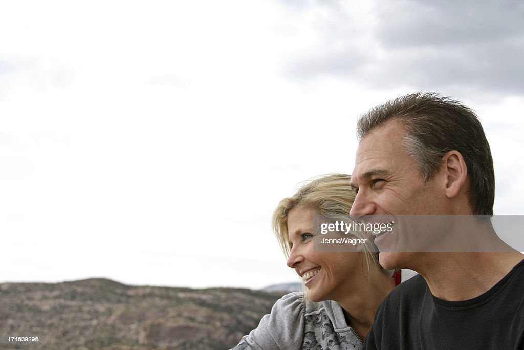 Smiling Couple : Stock Photo