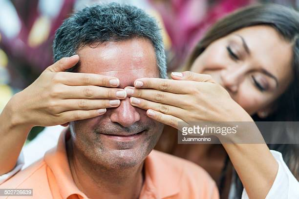 smiling couple - sugar daddy stock photos and pictures