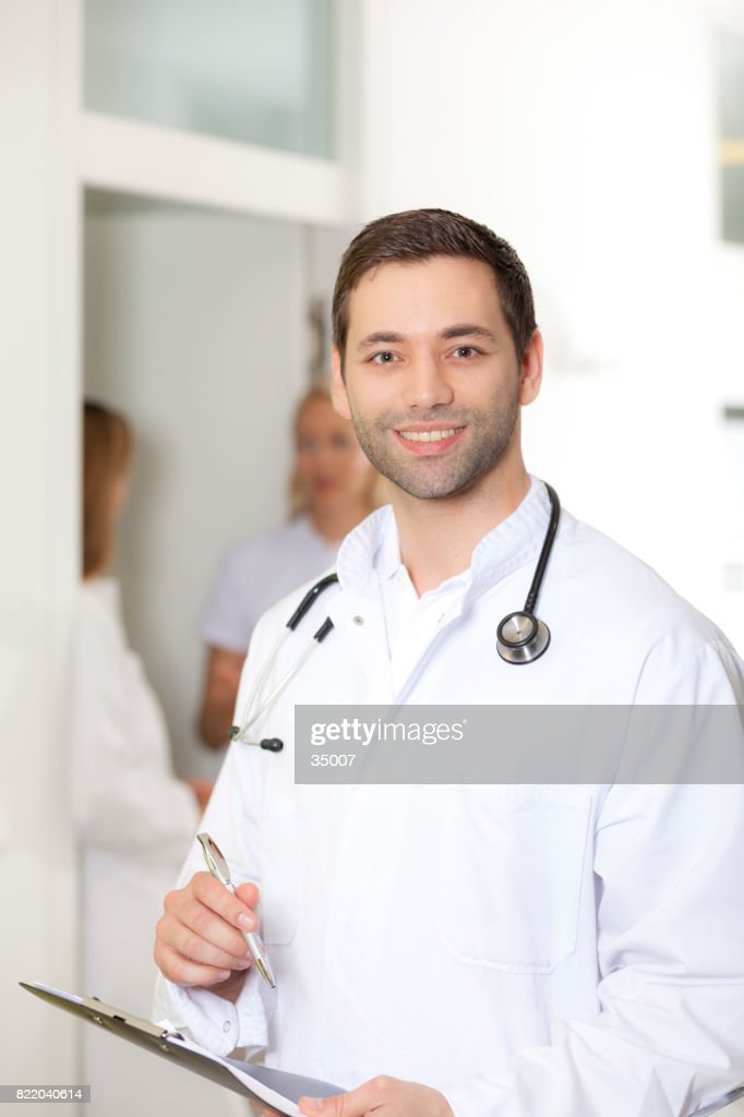 smiling doc : Stock Photo